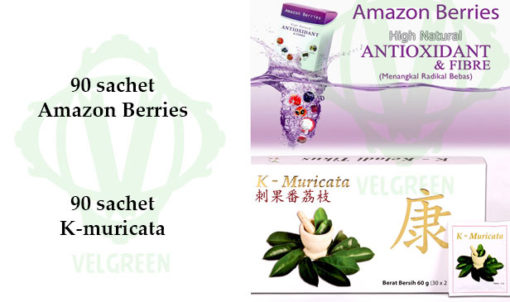 Kmuricata Amazon Berries Paket Penyakit Kritis